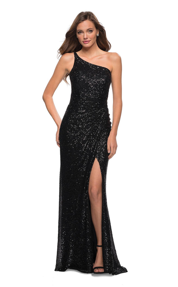 La Femme 29962 Dress Black