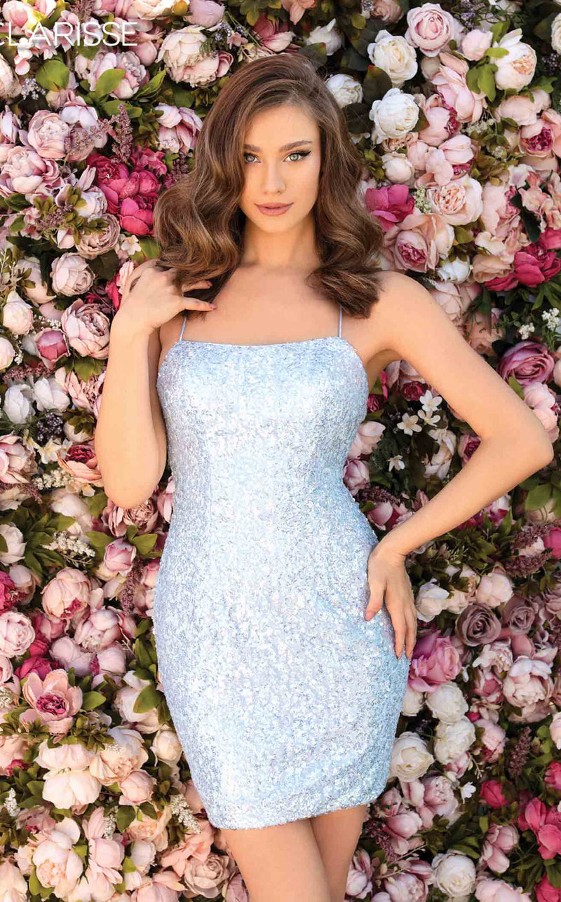 Clarisse 30154 Dress Winter-Blue