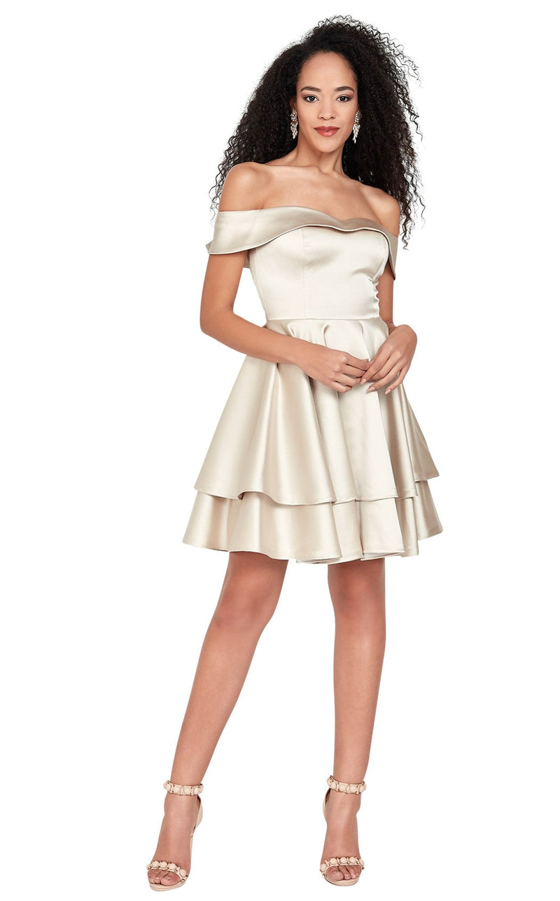 Passion Dress 3039 Dress Champagne
