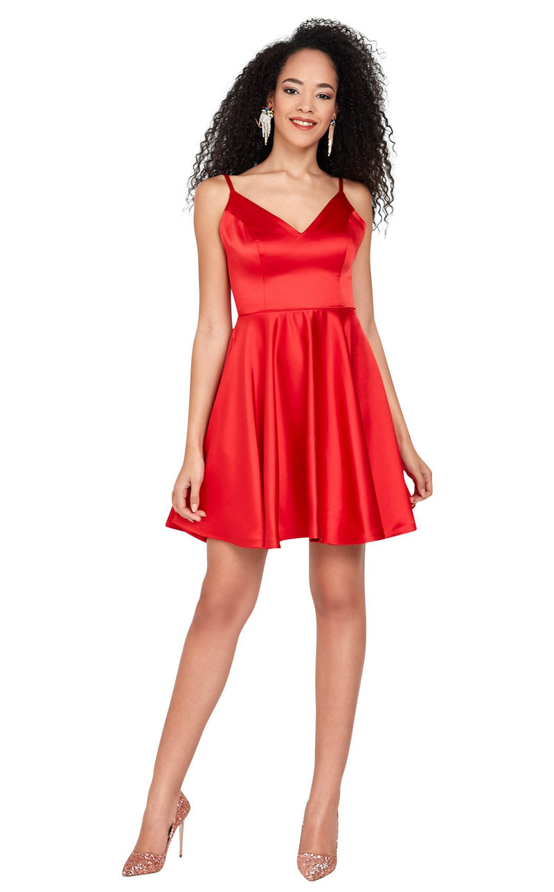 Passion Dress 3040 Dress Red