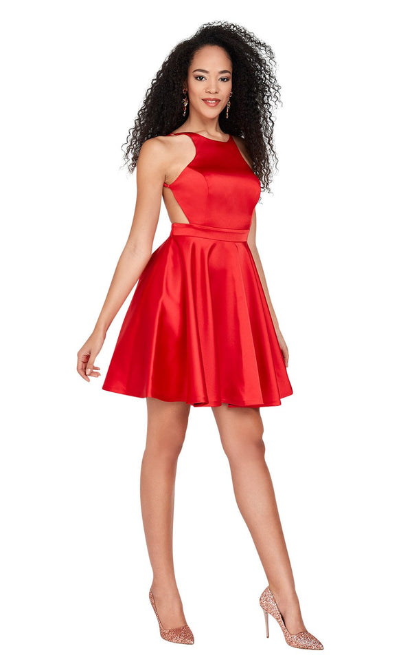 Passion Dress 3041 Dress Red