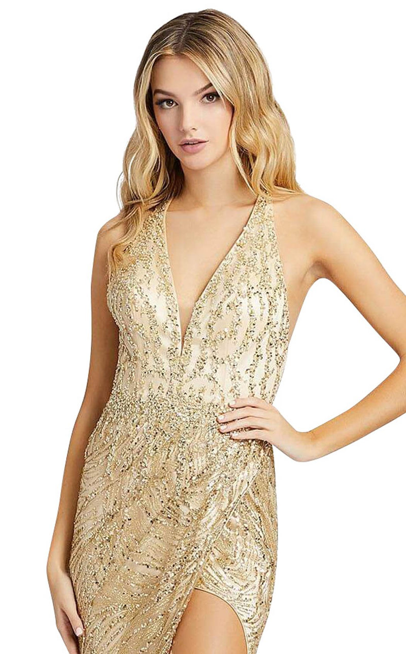 Mac Duggal 30621M Light-Gold