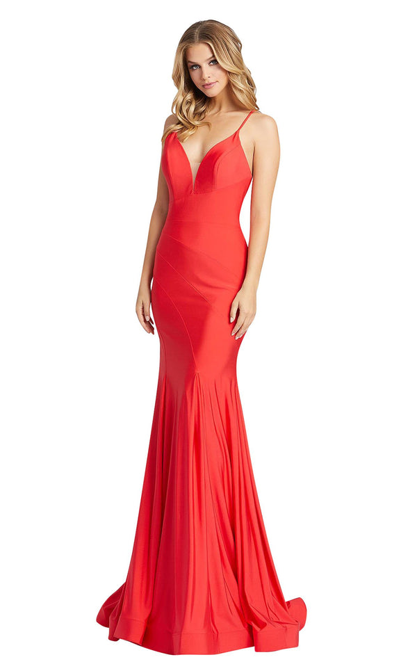 Mac Duggal 30694i Cherry