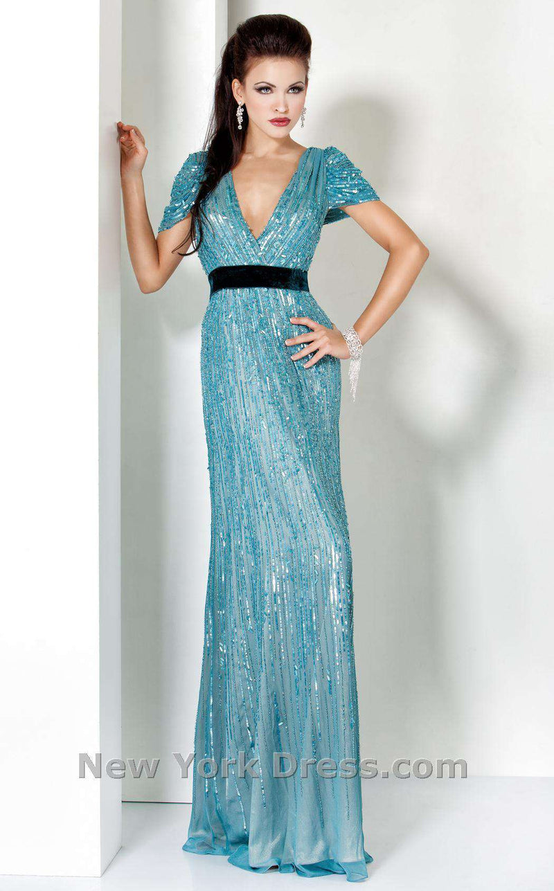Jovani 0036 Sea Blue