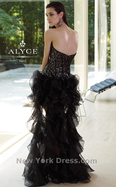 Alyce 6043 Black/Purple