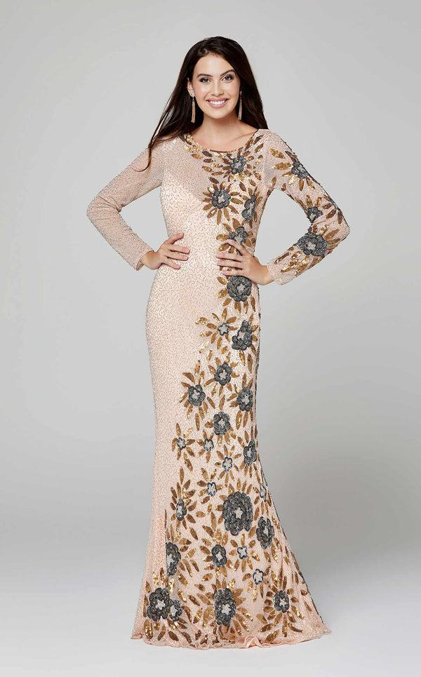Primavera Couture 3371 Blush/Multi