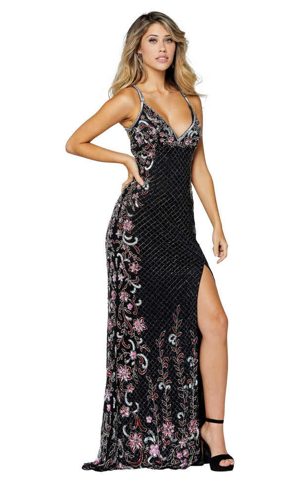 Primavera Couture 3405 Black-Multi