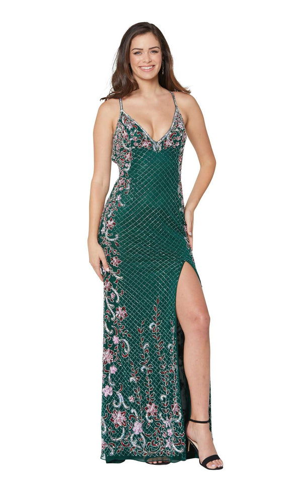Primavera Couture 3405 Forest-Green