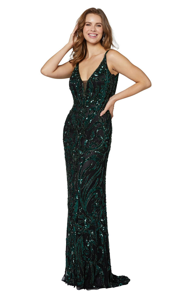 Primavera Couture 3454 Black-Green