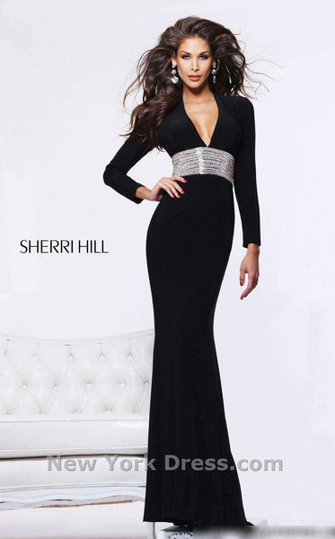 Sherri Hill 1580 Black/Silver