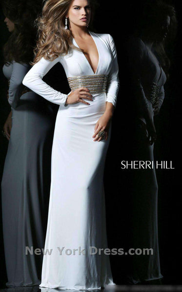 Sherri Hill 1580 Ivory/Gold