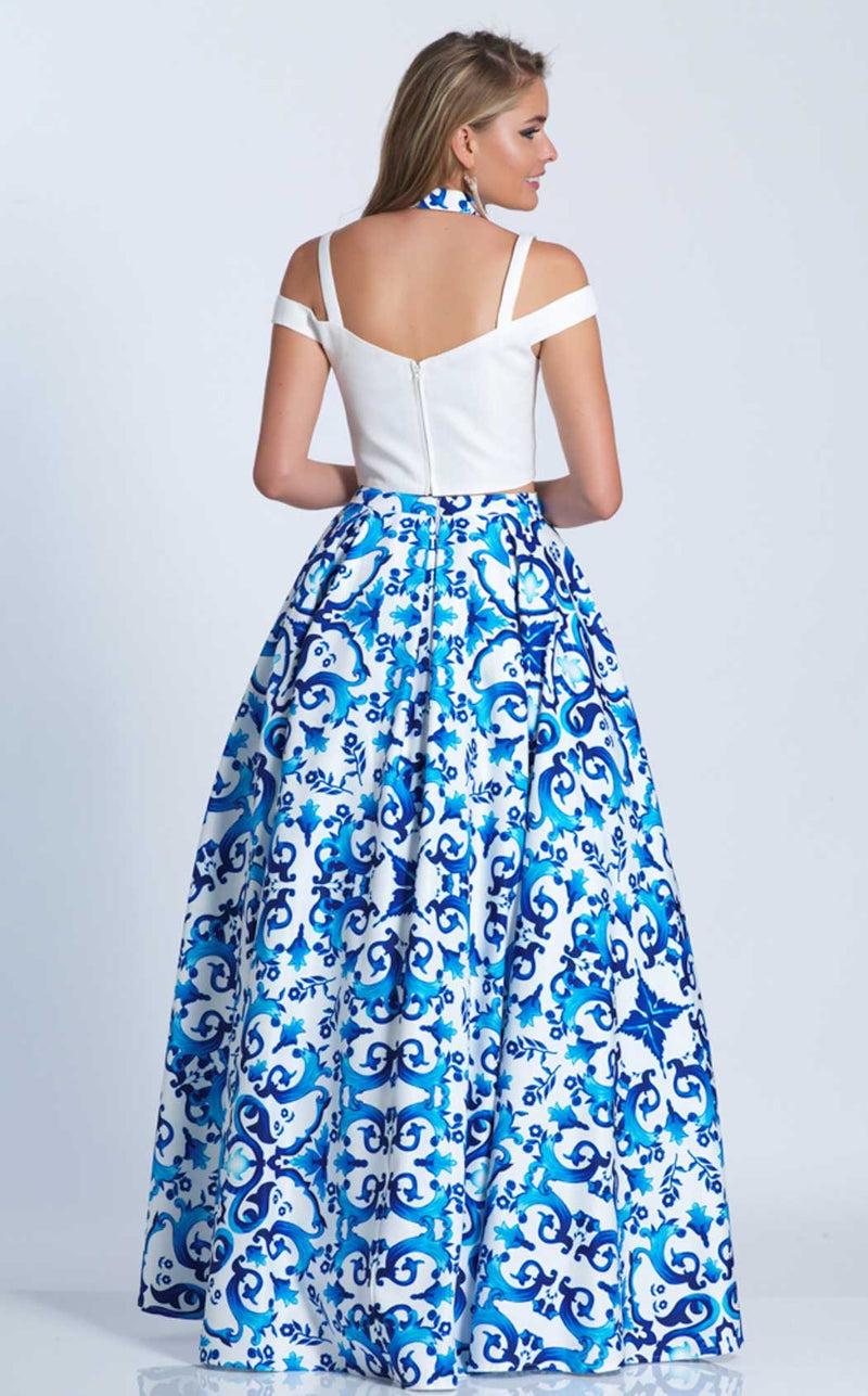 Dave and Johnny 3473 Dress Print