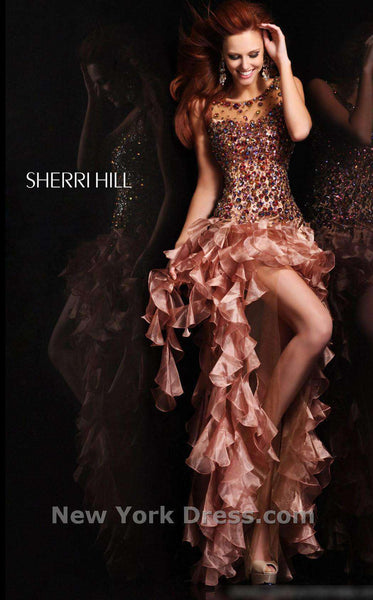 Sherri Hill 21117 Copper/Multi