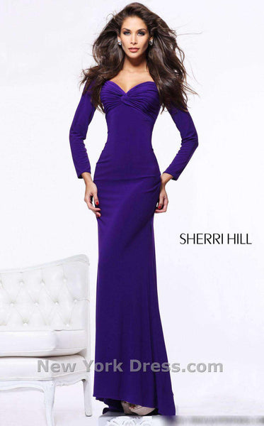 Sherri Hill 21126 Purple