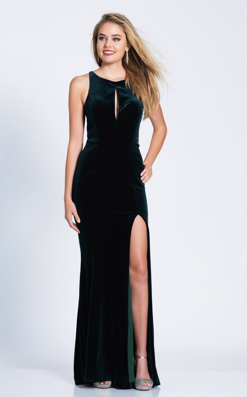 Dave and Johnny 3583 Dress Emerald