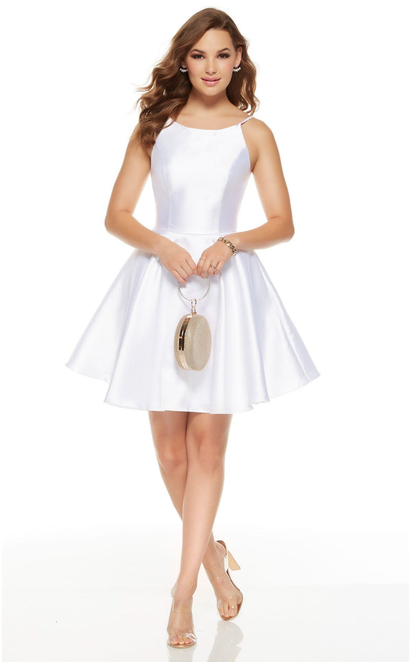 Alyce 3925 Dress Diamond-White