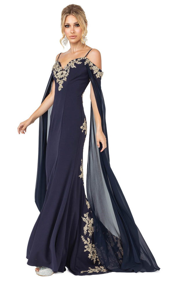 Dancing Queen 4025 Dress Navy