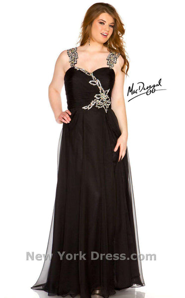 Mac Duggal 64400R Black