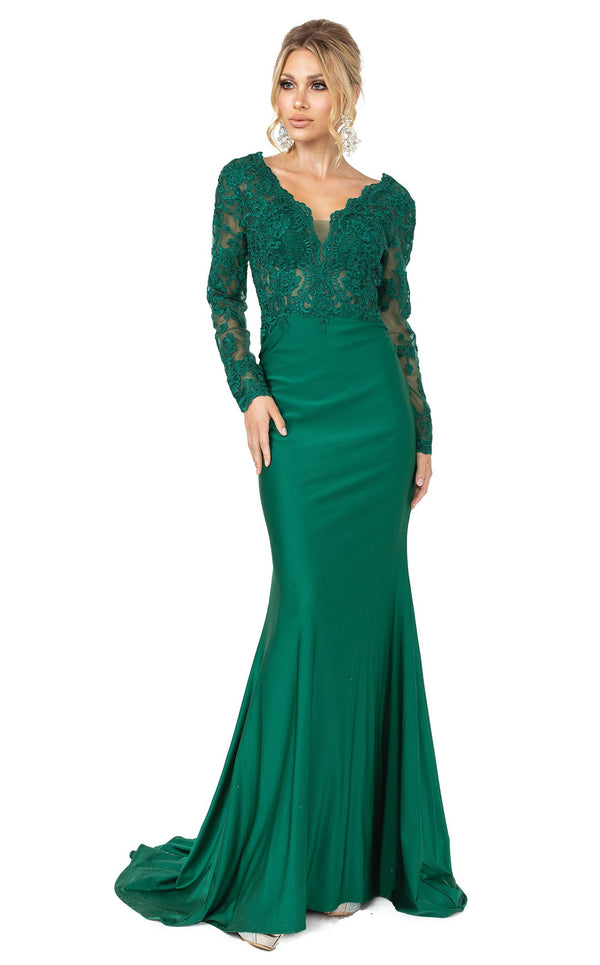 Dancing Queen 4124 Dress Hunter-Green