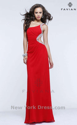 Faviana 7351 Red