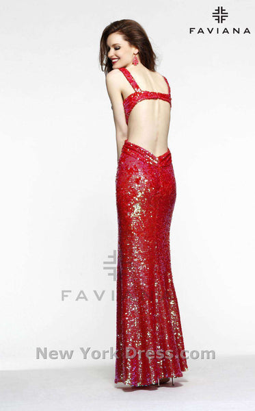 Faviana S7373 Red