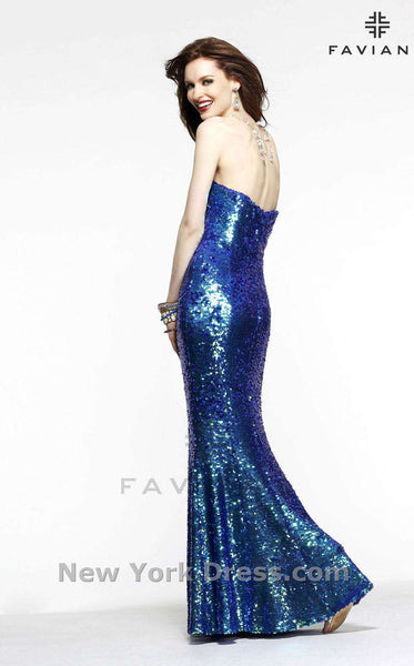 Faviana S7374 Royal Blue