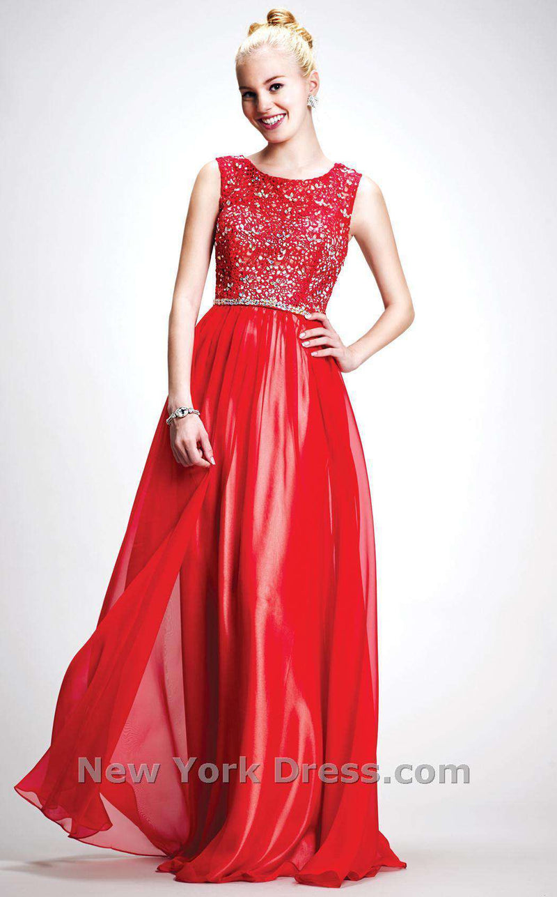 Colors Dress 0686 Red