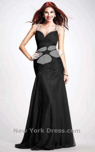 Colors Dress 0703 Black