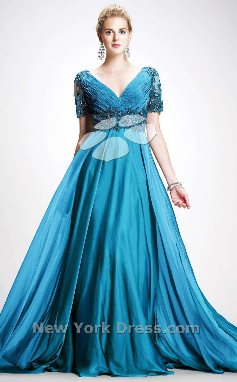 Colors Dress 0753 Teal