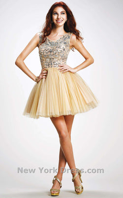 Colors Dress 0961 Nude