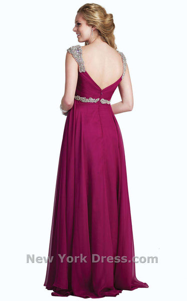 Colors Dress 0978 Berry