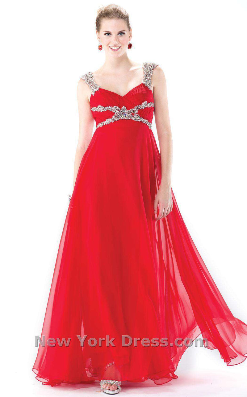 Colors Dress 0978 Red