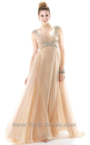 Colors Dress 0978 Nude