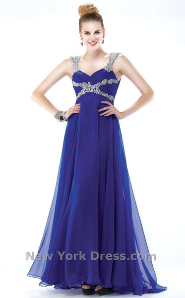 Colors Dress 0978 Royal