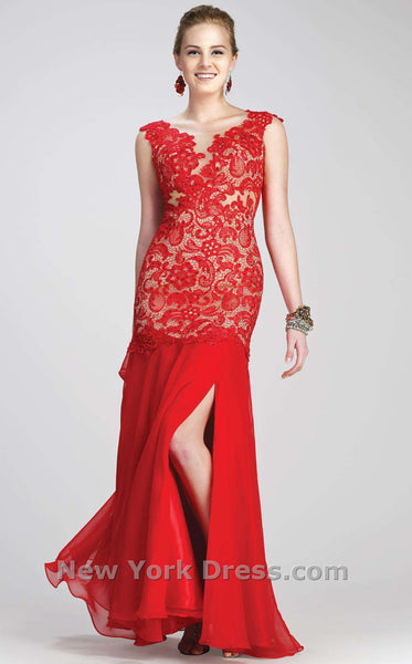 Colors Dress 0980 Red