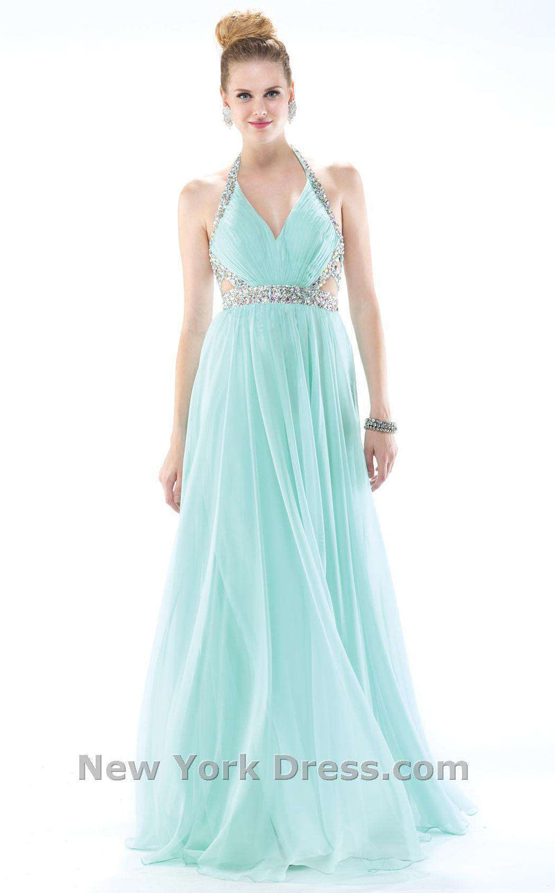 Colors Dress 0981 Aqua