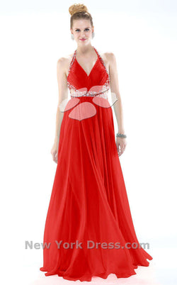 Colors Dress 0981 Red