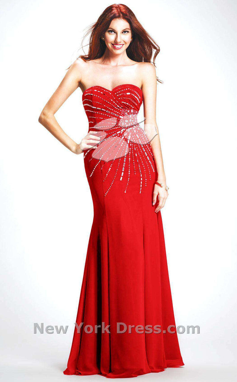 Colors Dress 0220 Red