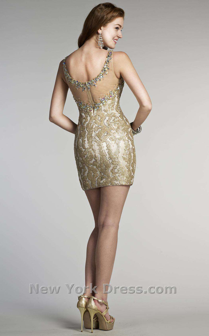 Colors Dress 0356 Gold