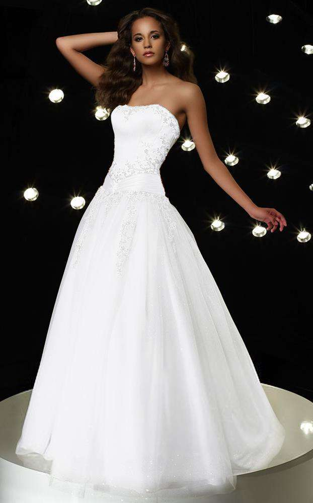Alyce 6495 Diamond White