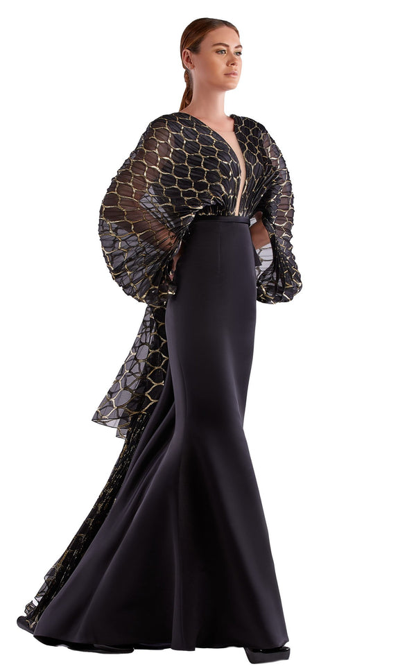 Edward Arsouni Couture SS0486 Dress Black