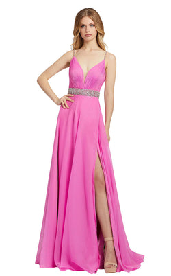 Mac Duggal 48896L Hot-Pink