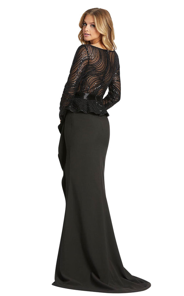 Mac Duggal 48966D Black