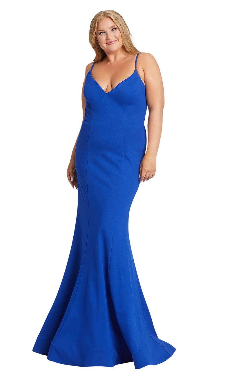 Mac Duggal Fabulouss 48996F Cobalt