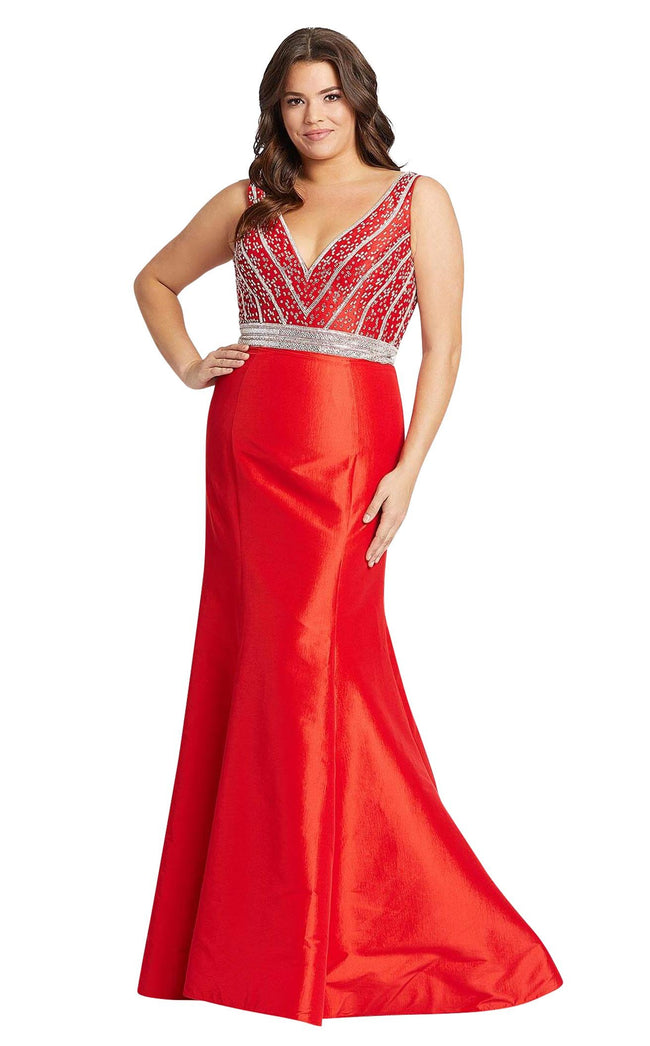 Mac Duggal Fabulouss 48997F Red
