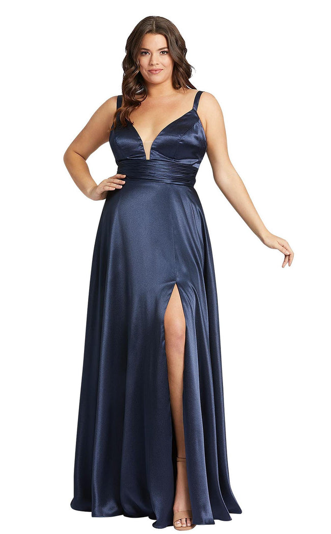Mac Duggal Fabulouss 49044F Navy