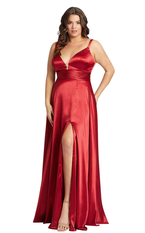 Mac Duggal Fabulouss 49044F Red