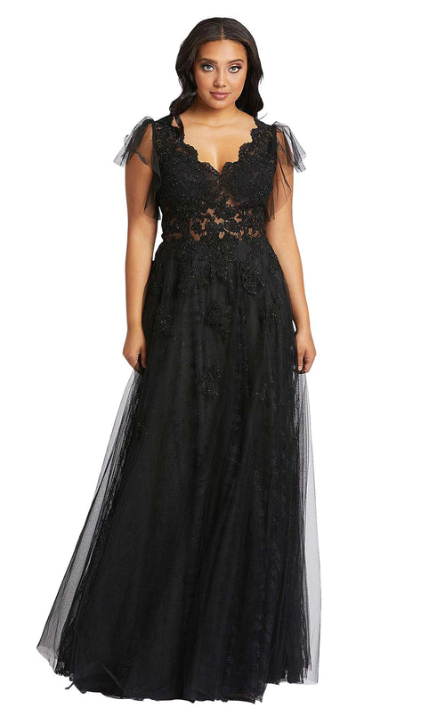 Mac Duggal Fabulouss 49072F Black
