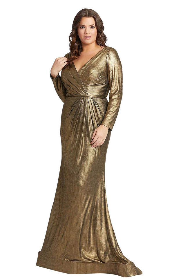 Mac Duggal Fabulouss 49073F Bronze