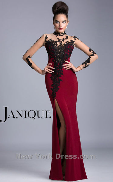 Janique K6404 Red/Black